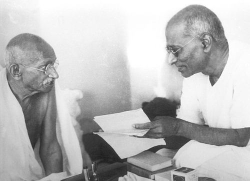 Gandhi and Rajgopalachari