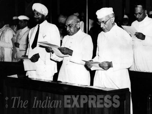 Nehru and Ministers